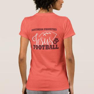 Southern Priorities: Jesus & Football- T-shirt