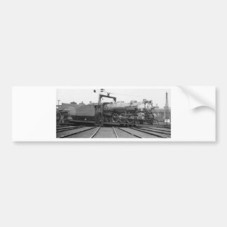 Southern Railway Pacific on Turntable Bumper Stickers