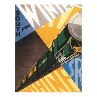 Southern Railway Scotland Vintage Postcard