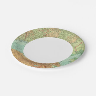 Southern Russia Paper Plate