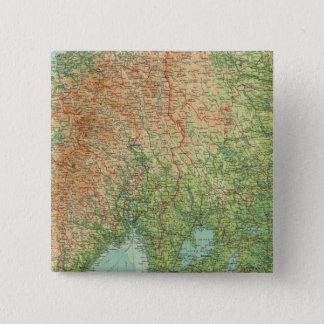 Southern Scandinavia & Denmark 15 Cm Square Badge