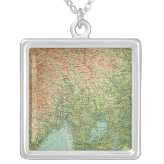 Southern Scandinavia & Denmark Silver Plated Necklace