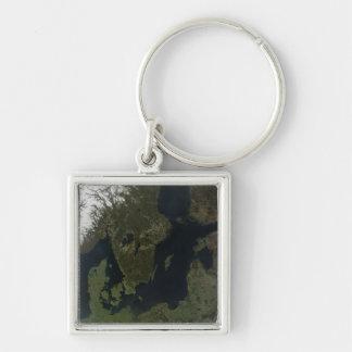 Southern Scandinavia Key Ring