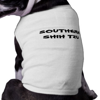 SOUTHERN SHIH TZU DOG TSHIRT