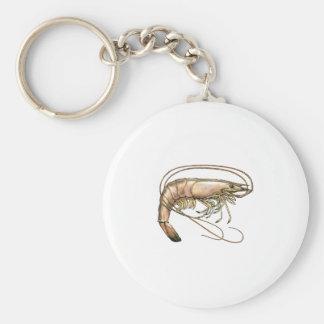 Southern Shrimp Art Keychain