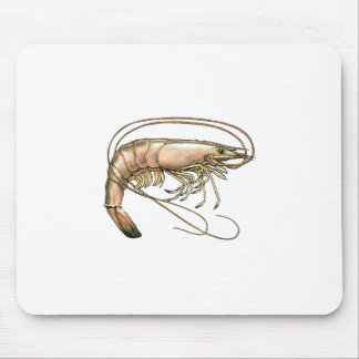 Southern Shrimp Art Mouse Mat