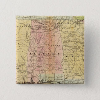 Southern States 15 Cm Square Badge