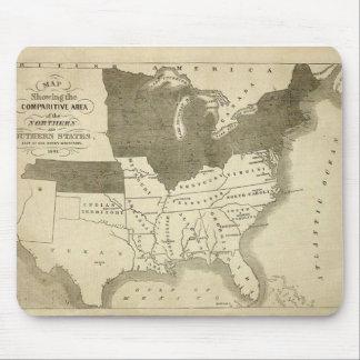 Southern States 1861 Mousepad