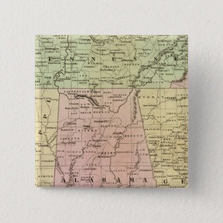 Southern States Olney Map 15 Cm Square Badge