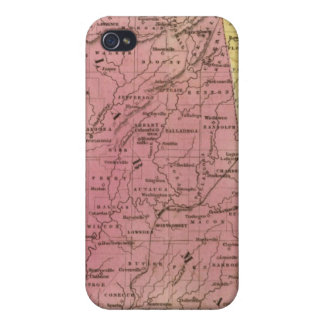 Southern States with South Part of Florida iPhone 4 Covers