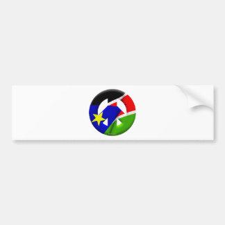 Southern Sudan Bumper Sticker