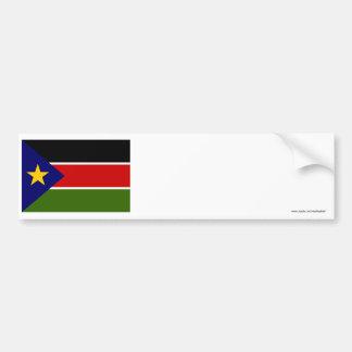 Southern Sudan Flag Bumper Sticker