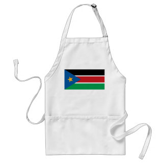 Southern Sudan Flag Standard Apron