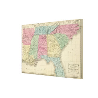 Southern US Canvas Print