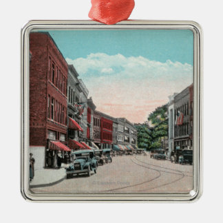 Southern View of Margaret Street Christmas Ornament