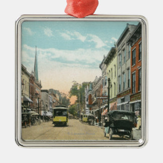 Southern View of Wall Street Christmas Ornament