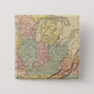 Southern, Western States 15 Cm Square Badge