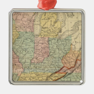 Southern, Western States Christmas Ornament