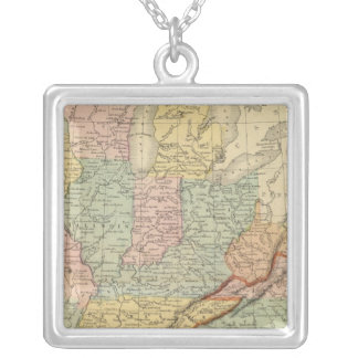 Southern, Western States Silver Plated Necklace
