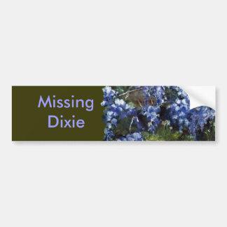 Southern Wisteria Flowers in Louisiana Bumper Sticker