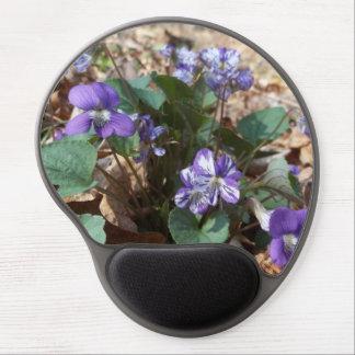 Southern Wood Violet Gel Mouse Pad
