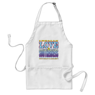 Southerners Love Face Standard Apron