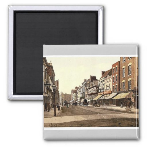 Southgate Street, Gloucester, England rare Photoch Refrigerator Magnet