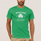 Southie Boston Massachusetts 1804 with Shamrock T-Shirt