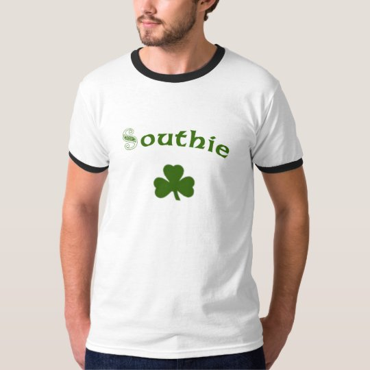 Southie Irish Mens Ringer T-Shirt