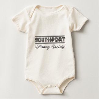 Southport Farting Society Memorobillia Baby Bodysuit