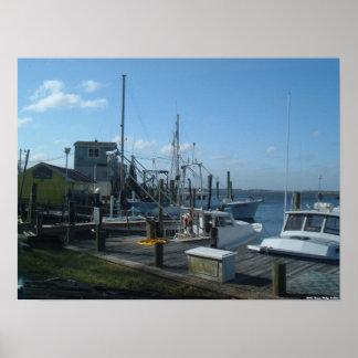 Southport, North Carolina - Fishing Boats (2005) Posters