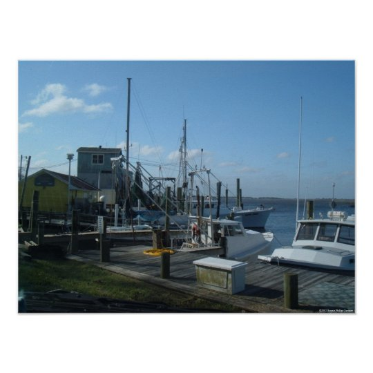 Southport, North Carolina - Fishing Boats (2005) Poster