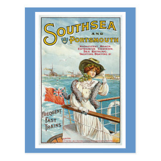 Southsea and Portsmouth Postcard