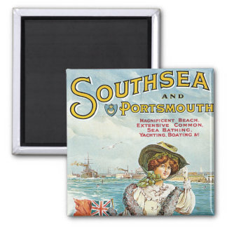 Southsea and Portsmouth Square Magnet