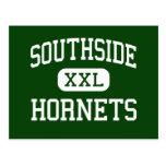 Southside - Hornets - High - Elmira New York Postcard
