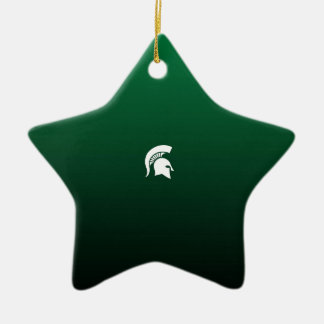Southside Spartans Ceramic Star Decoration