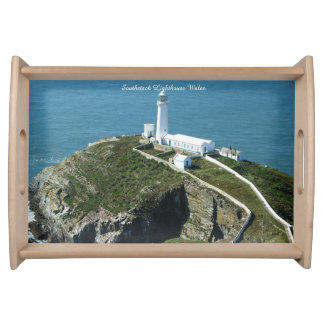 Southstack Lighthouse Wales. Serving Tray