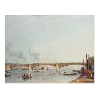 Southwark Bridge, West Front, from Bankside Postcard