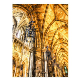 Southwark Cathedral London Art Postcard
