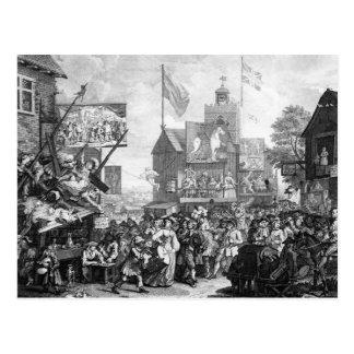Southwark Fair, 1733 Postcard