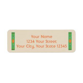 Southwest Address Label