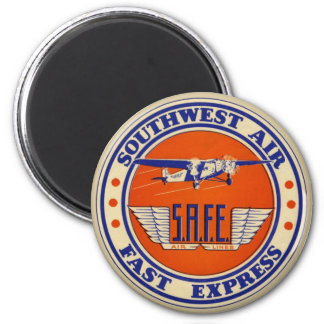 Southwest Air Fast Express Magnet