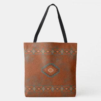 Southwest Canyons Diamond Tote Bag