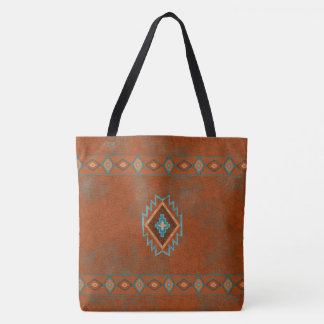 Southwest Canyons Diamond Tote Bag