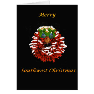 Southwest Christmas Greeting Card