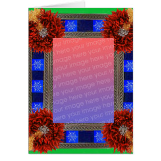 Southwest Christmas Template Greeting Card