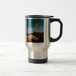 Southwest Cowboy Silhouette Mug