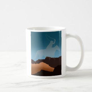Southwest Cowboy Silhouette Coffee Mugs