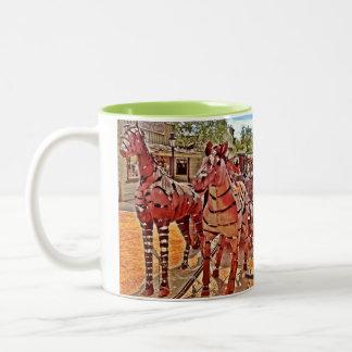 Southwest Cowboy Wagon Coffee Mug