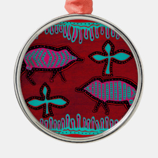 Southwest Desert Animals Christmas Ornament